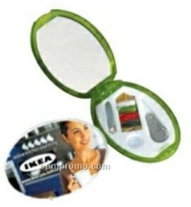 Chase Oval Sewing Kit & Mirror