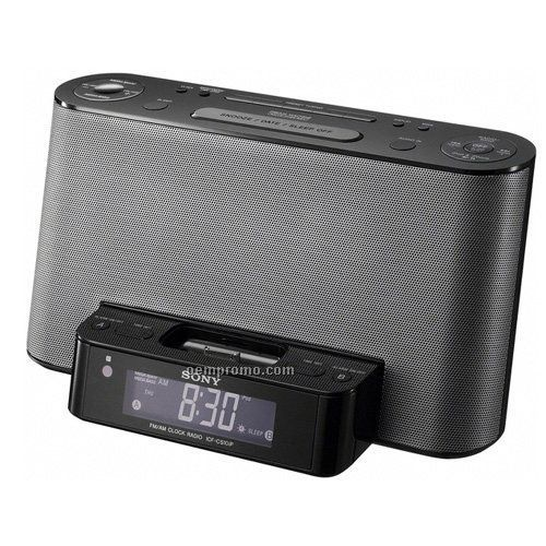 sony icfcs10ip ipod docking clock radio w alarm china. Black Bedroom Furniture Sets. Home Design Ideas