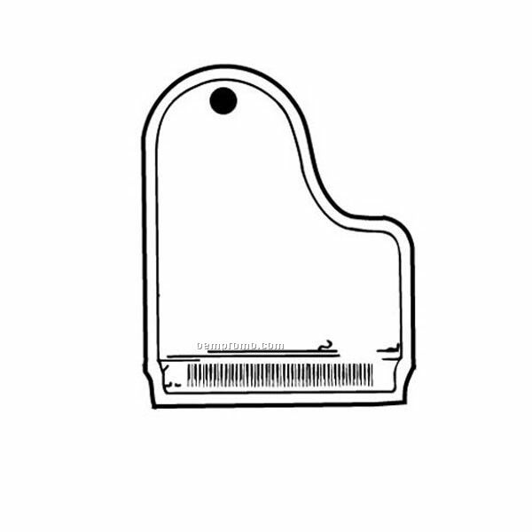 Stock Shape Collection Piano Key Tag
