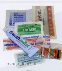 Travel Pac W/ Shampoo & Toothpaste
