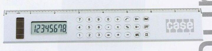 Aluminum Calculator Ruler