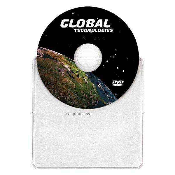 Duplicated And Printed Mini DVD Duplication In Vinyl Sleeves