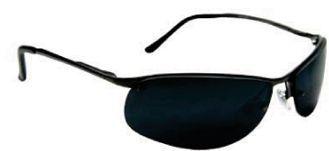 Metal Sunglasses (Semi Rimless Frame)