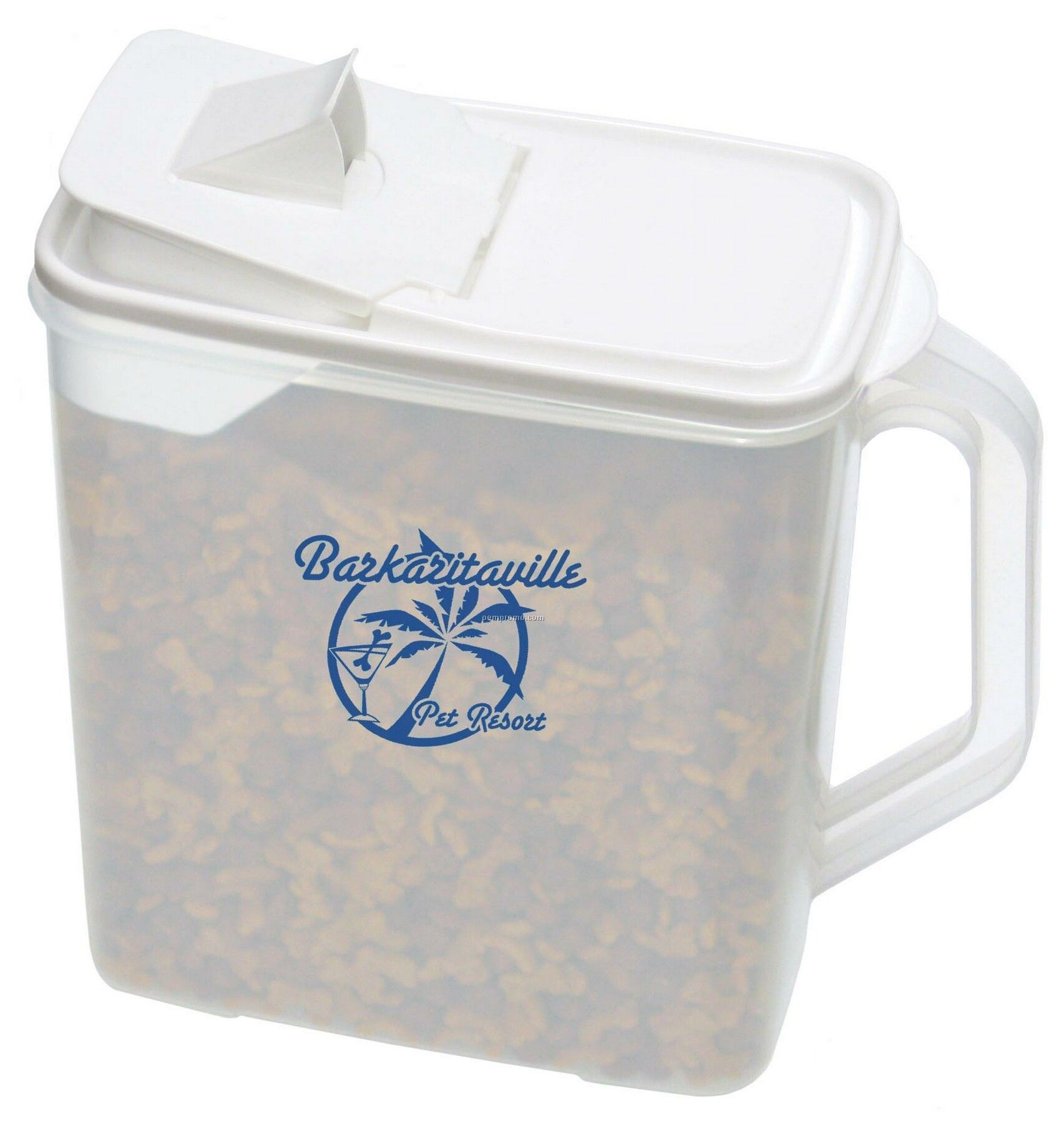 Pet Food/Cereal Container (1 Color/2 Side)