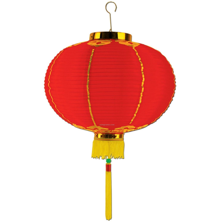 Good Luck Lanterns W/ Tassel