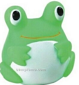 Rubber Fat Belly Frog Toy