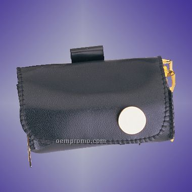 Golf Kit In Leatherette Pouch