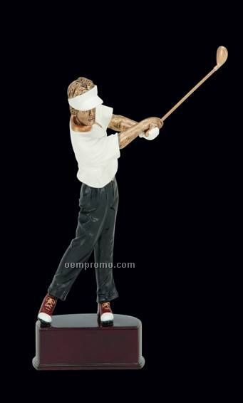 Golfer, Male Action Color Figures - 8""
