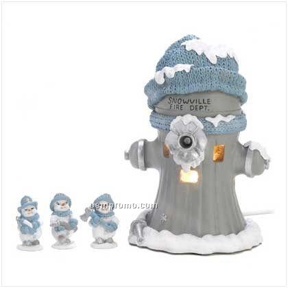 Snow Buddies Firehouse Set