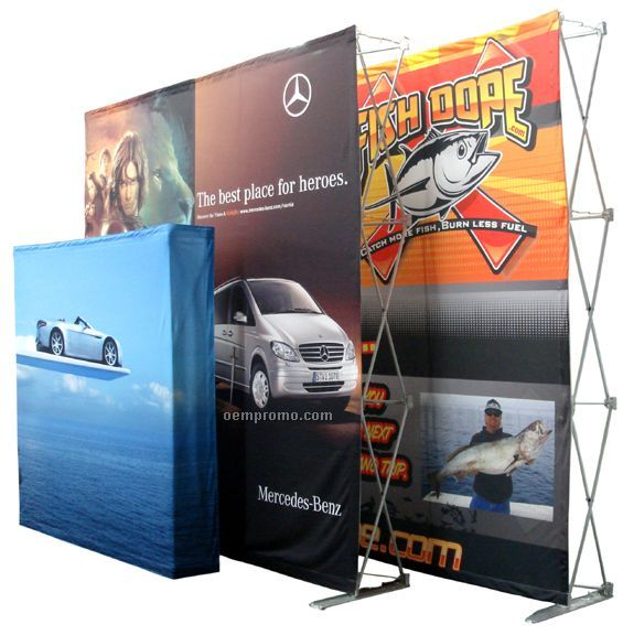Easy Pop Up Display - 5' Table Top (Face Graphics)