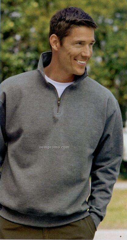 Jerzees Super Sweats 1/4 Zip Sweatshirt With Cadet Collar (S-3xl)