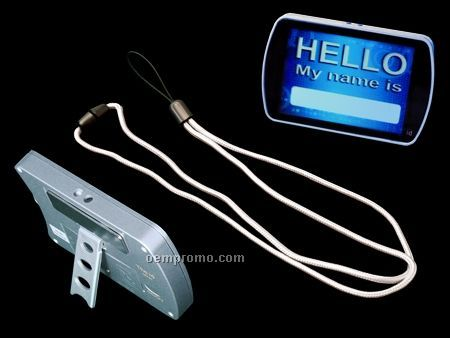 Light Up Name Badge