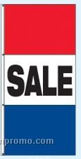 Single Face Stock Message Interceptor Drape Flags - Sale