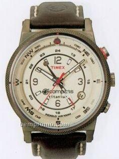 Timex Expedition Full E-compass Titanium Round Dial