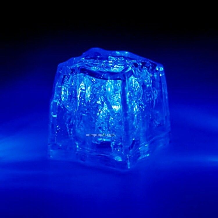Blue 3 Function Light Up Ice Cube