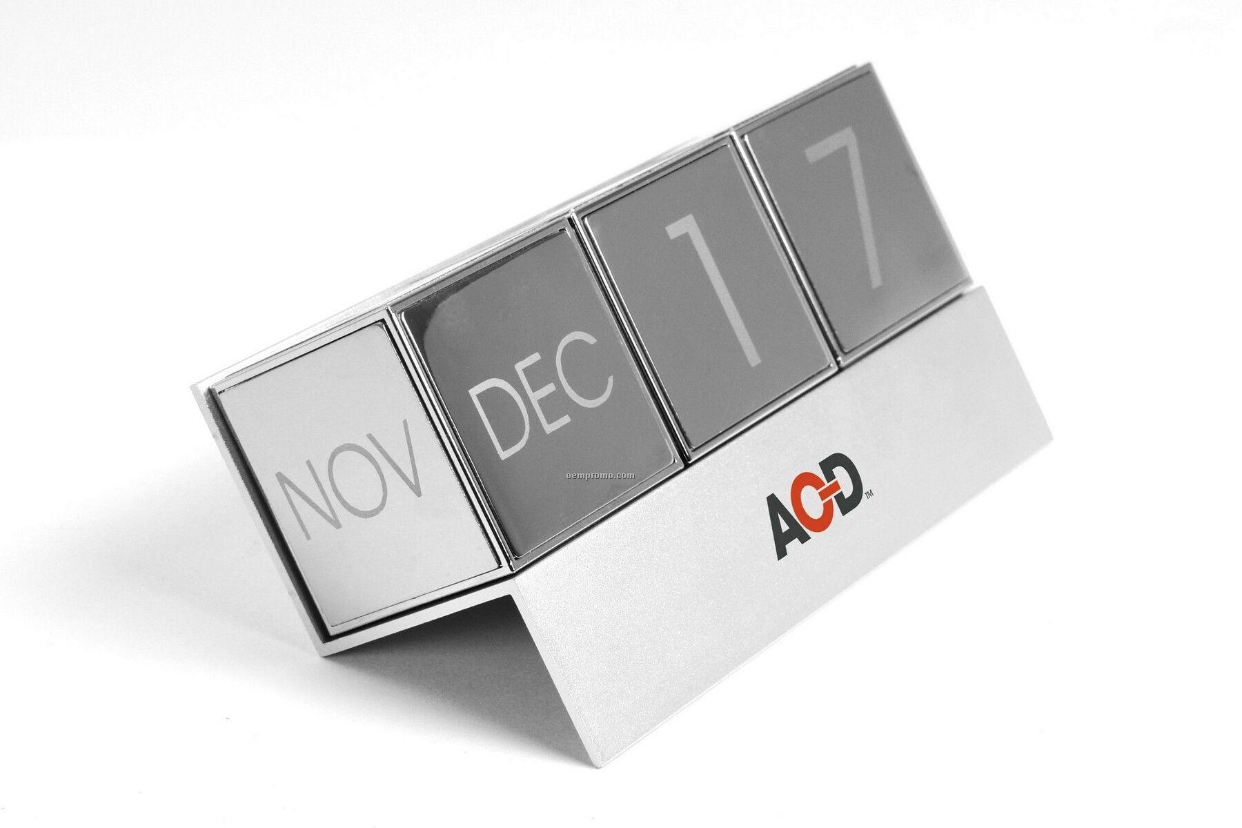 Perpetual Calendar Cube : Perpetual magnetic stainless steel cube calendar china