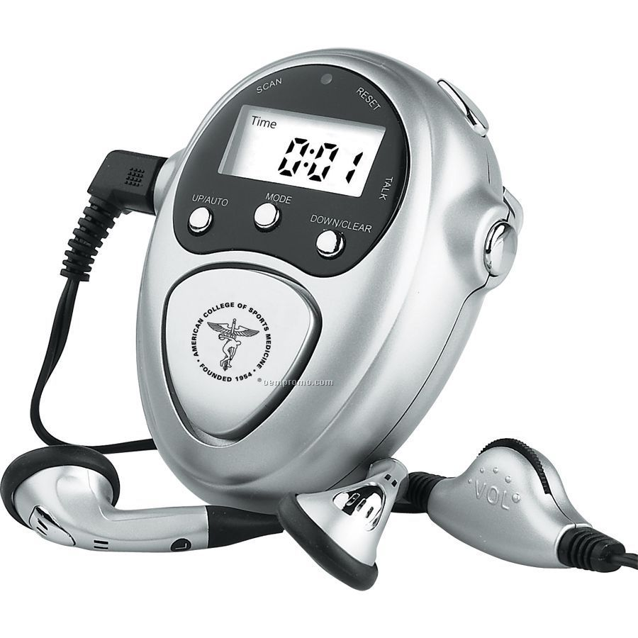 Talking Scanner And Pedometer
