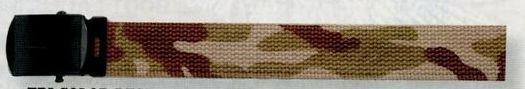 "Tri Color Beige Camouflage/ Tan Beige Reversible Military Web Belt (54"")"