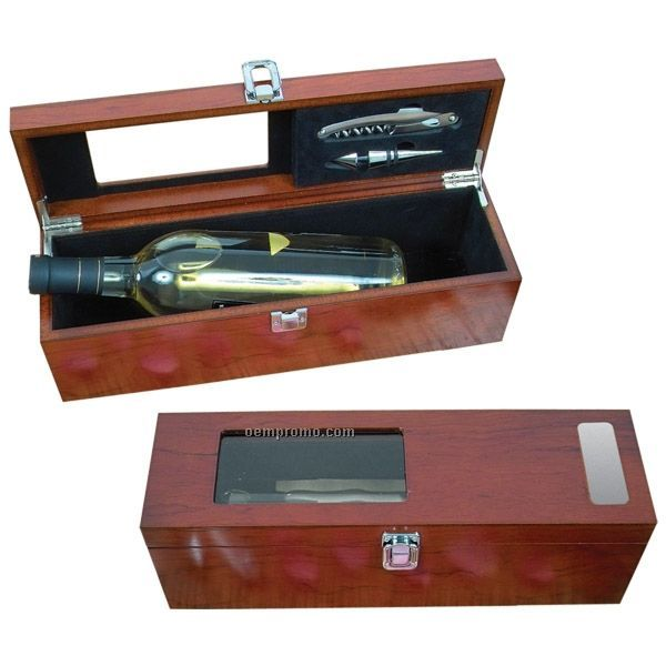 Two Piece Rosewood Wine Kit (Printed)