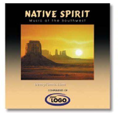 U.s. Destinations Native Spirit Music Of The Southwest CD In Jewel Case