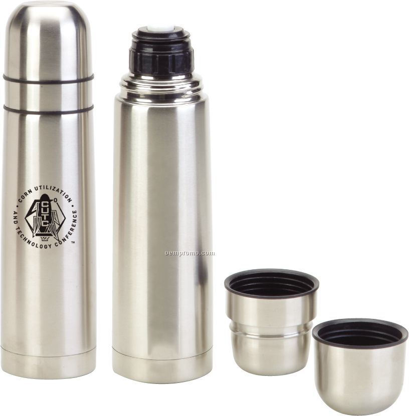 16 Oz. Stainless Thermo-vacuum Sealed Bottle