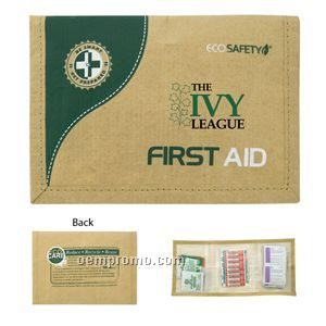 45 Piece Eco-friendly First Aid Kit (23 Hour Service)