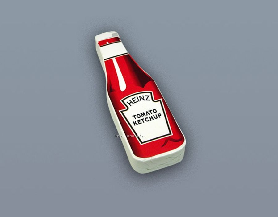 Compressed 100% Cotton T-shirt Ketchup-bottle Stock Shape (S-xl)