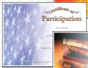 Participation Certificate (Certificate Only)