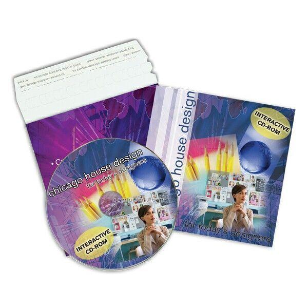 Replicated CD In Printed Mailer
