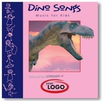 Children's Dino Songs Compact Disc In Jewel Case - 20 Songs
