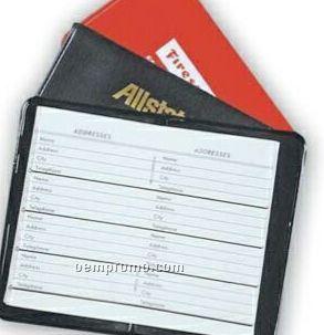 French Calf Mini Address Book