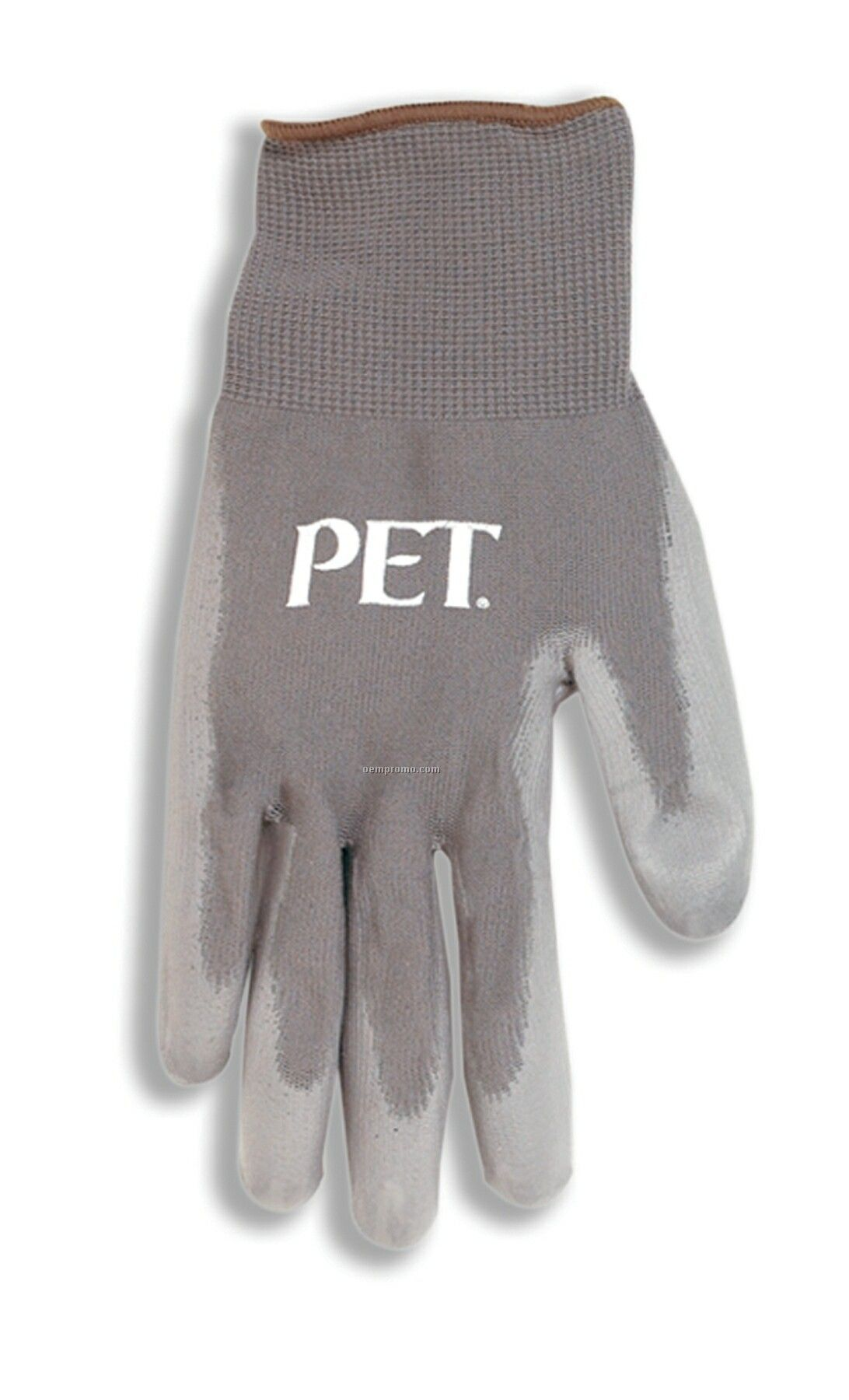 Gray Nitrile Coated Glove
