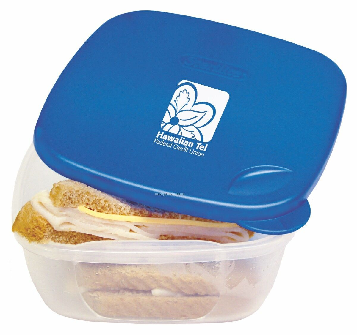 Square Food Containers - Sandwich