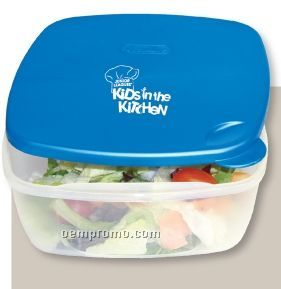 Square Food Containers - Salad