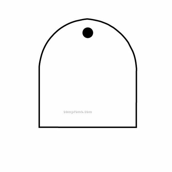 Stock Shape Collection Arch 2 Key Tag