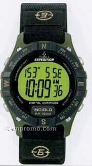 Timex Expedition Digital Watch W/Compass & Fast Strap