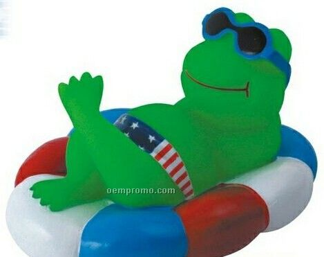 Rubber Pool Pal Frog Toy