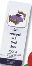 "Slotted Plastic Bookmark (1 1/2""X4"")"