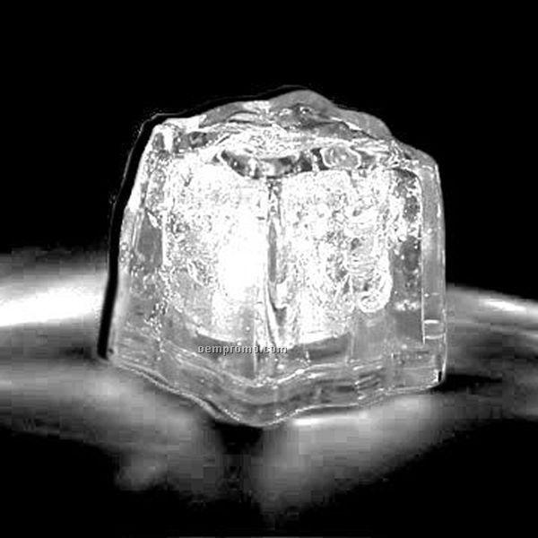 white 3 function light up ice cube china wholesale white 3 function