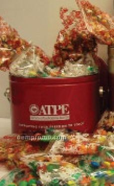 1/2 Gallon Tin Filled W/ 30 Small Packs