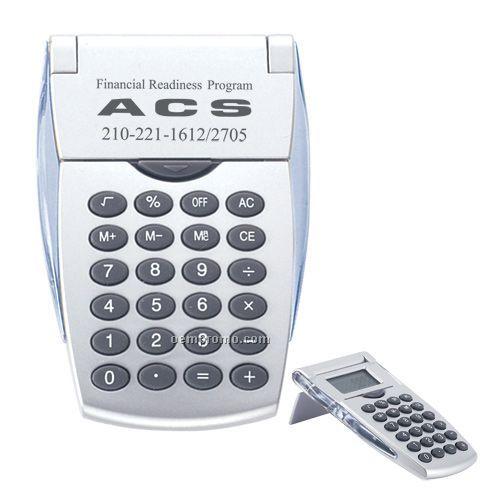 Auto Flip Up Pocket Calculator