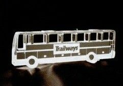 Bus Acrylic Paperweight (Up To 12 Square Inch)
