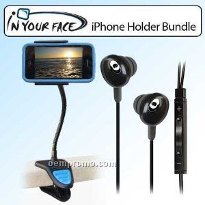 Iluv Premium Earphones With Iphone/Ipod Remote And Mic.