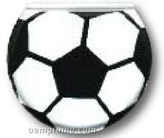 "Soccer Ball Adhesive Sportsline Pad Holder / 4 1/4""X4 7/8"""