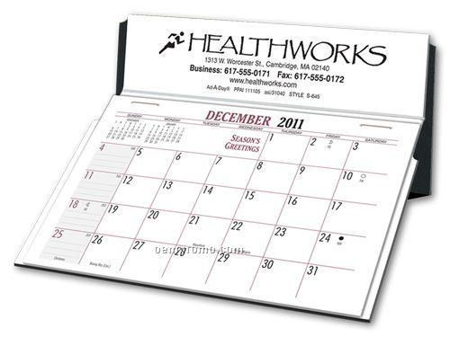 Stand-o-matic Desk Calendar (Foil Stamped)