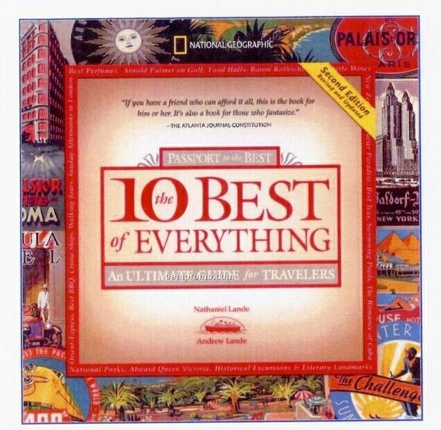 The 10 Best Of Everything - Gift Book