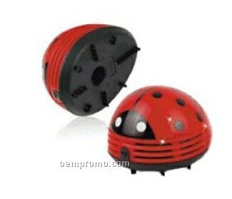 10-1/2cmx8-1/2cmx7cm Lady Bug Mini Vacuum