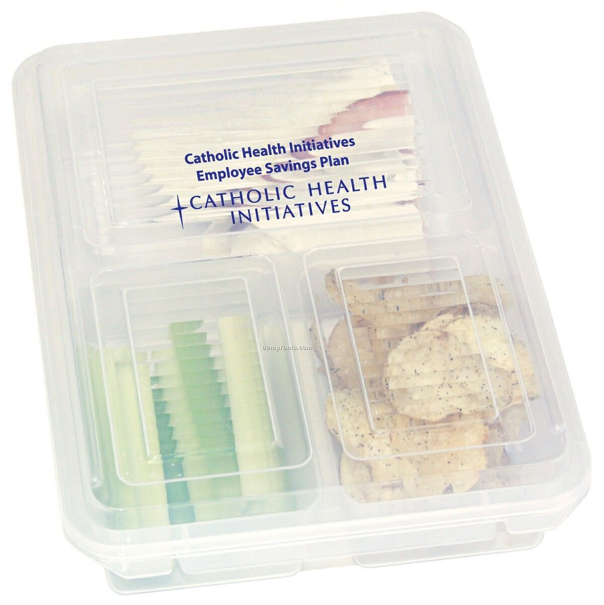 3 Section Flavor Savor - Food Container