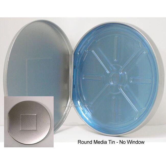 Deluxe Round CD Tin
