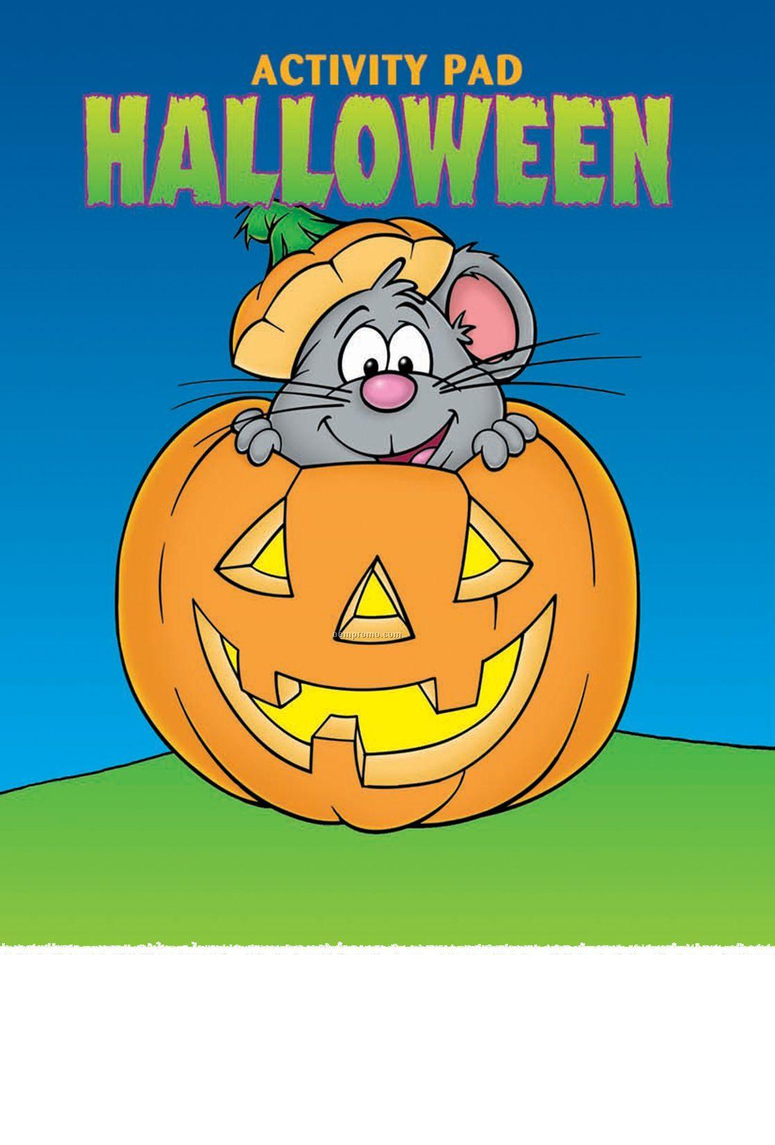 Halloween Activity/Coloring Book